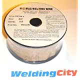 WeldingCity 2 Rolls of ER70S-6 ER70S6 Mild Steel MIG Welding Wire 2-Lb Spool 0.023″ (0.6mm)