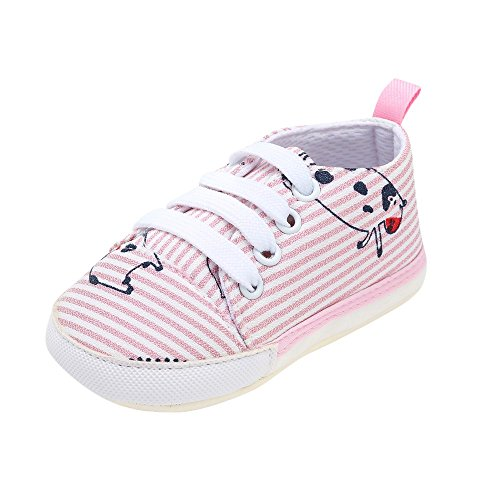 Baby Shoes, Toddler Baby Girls Boys Letter Cow Print Striped Shoes by (Cow Print Clogs)