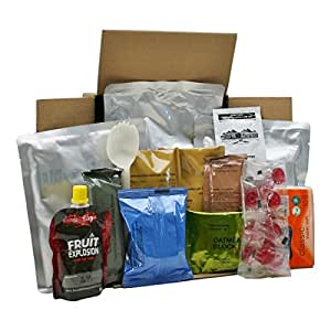 Ration packs / military / survival / all day / 12 hour / menu 6