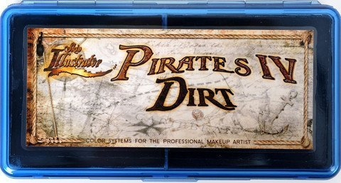 PPI Skin Illustrator Pirates Dirt Makeup Palette by Skin Illustrator