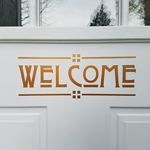 Craftsman Style Door Decal