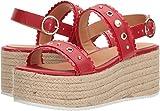 Love Moschino Women's Platform Sandal Red 36 M EU