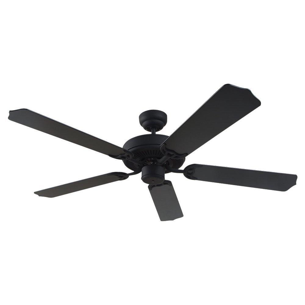 Sea Gull Lighting 15030-962 Quality Max 52-Inch, Five-Blade Ceiling Fan, Mahogany Dark / Oak Blade Finish