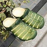 JJLIKER Mens Mesh Sandals Garden Clog Shoes