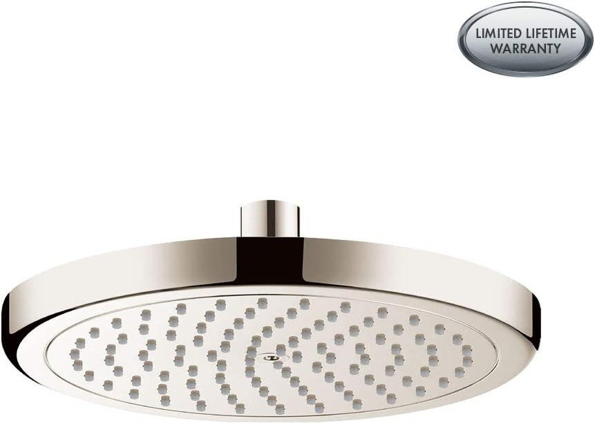 Hansgrohe HANFT 26465821 Croma Showerhead, Small, Brushed Nickel
