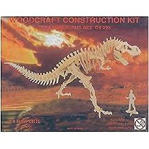 Tyrannosaurus Rex: Woodcraft Construction Wooden 3D Model Kit T-Rex Model CX223