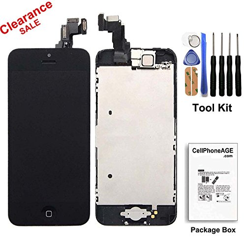 cellphoneage-for-iphone-5c-black-full-set-with-spare-parts-lcd-screen-replacement-digitizer-with-hom