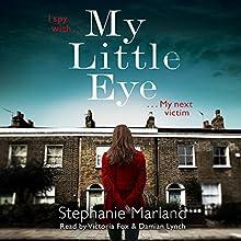 My Little Eye Audiobook by Stephanie Marland, Stephanie Broadribb Narrated by Damian Lynch, Victoria Fox