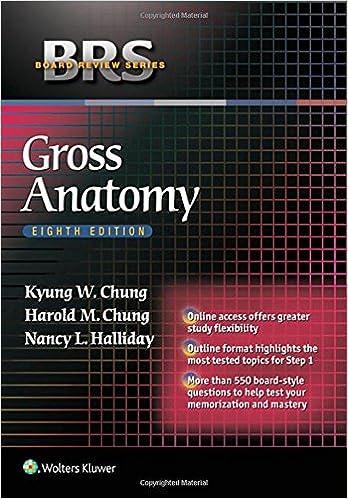 Kết quả hình ảnh cho BRS Gross Anatomy 8th Edition