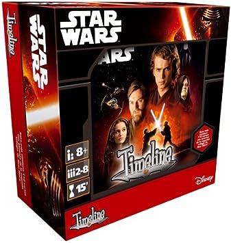 Asmodee- Juego de Cartas Timeline: Star Wars I-II-III (TIM07ES ...