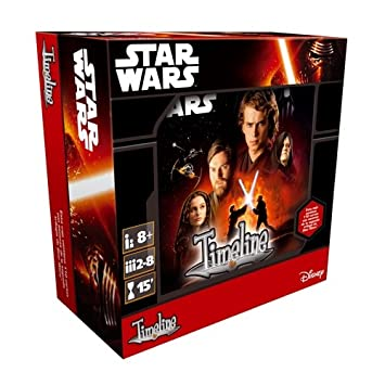 Asmodee- Juego de Cartas Timeline: Star Wars I-II-III (TIM07ES)