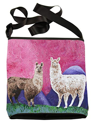 Read Llama Conservation Paintings Support Original Wearable Body Bag Art Cross Wildlife My Vegan How Large Andeans From qOfA7