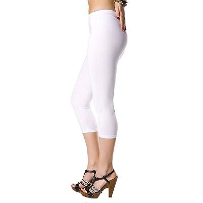 Futuro Fashion® Lovely 3/4 Length Cotton Leggings Classic Active Pants Unique Colour