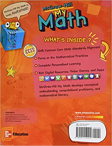 McGraw-Hill My Math, Grade 1, Student Edition, Volume 1: McGraw ...