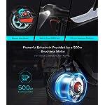 Kugoo-G-Max-Monopattino-Elettrico-Pieghevole-per-Adulto-velocit-Massima-30-kmh-Potente-Motore-brushless-da-500-W-Batteria-da-104-Ah