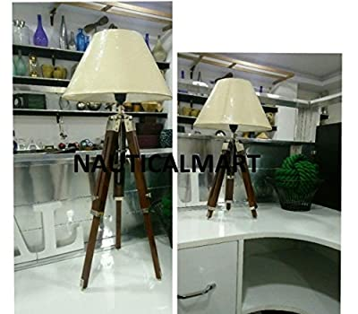 Royal Marine Tripod Floor Lamp by Nauticalmart