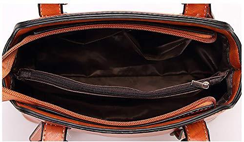 à Centrale black Sacs Sacoche à 25 fourre Cuir 20cm La Sacs bandoulière d'unité Mode en Tout LIGYM PU croisés bandoulière 12 xcw0ROfFqP