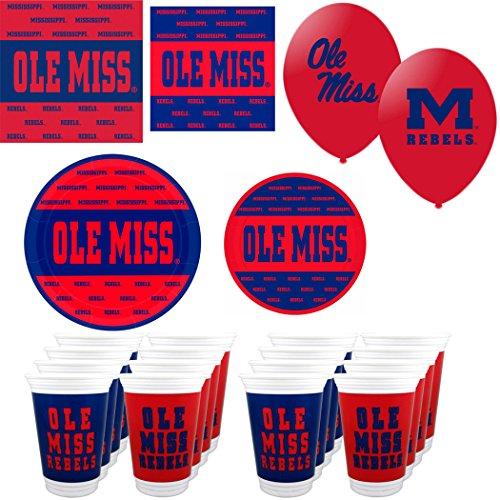 (NCAA Ole Miss Rebels 16 piece
