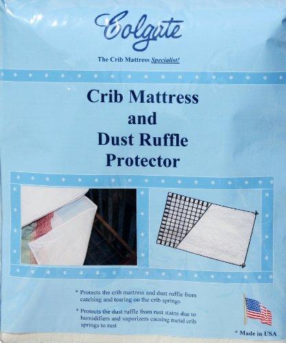 Colgate Crib Mattress Ruffle Protector