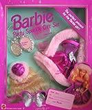 Barbie Party Sparkle Gift Set w Faux Fur Stole (1994 Arcotoys, Mattel)
