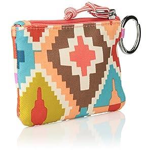 Vera Bradley Lighten up Zip ID Case, Polyester, Hacienda Diamonds + 1.50 Power
