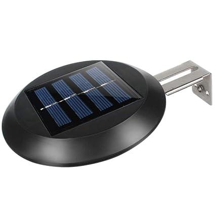GEZICHTA 9 Leds Lámpara Solar Hogar Jardín Valla Fregadero ...