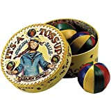 Authentic Models It's-A-Toss-Up Retro-Packaged 4-Color Pattern Juggling Balls Learn To Juggle