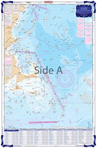 Waterproof Charts, Coastal Fishing, 64F Massachusetts Fishing ()