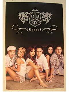 RBD Poster Band Shot Latin Rebelde Rebels R.B.D. R-B-D