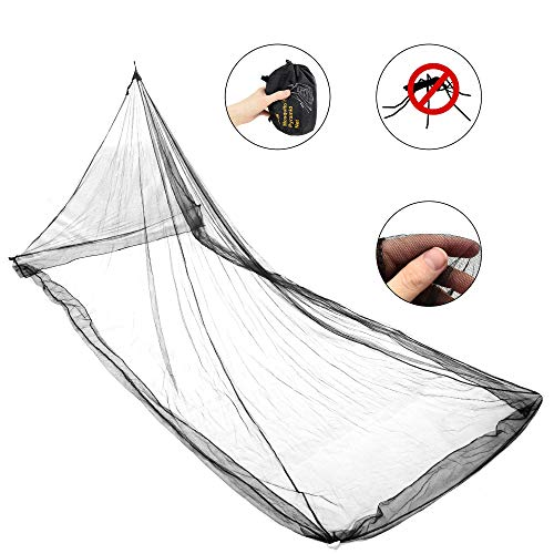AceCamp Mosquito Net, Camping Insect Net with Carrying Bag, Lightweight & Compact Outdoor Bug Netting for Survival, Fits Sleeping Bags, Tents, Beds & Cots - Single or Double
