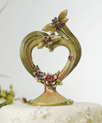 Dragon Wedding Cake (Weddingstar 9287 Ornamental Dragon Fly with Jewels Cake)