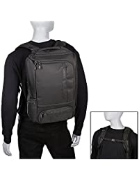 eBags Mochila ajustada profesional para laptop, Negro sólido), EB2146 16 BLK