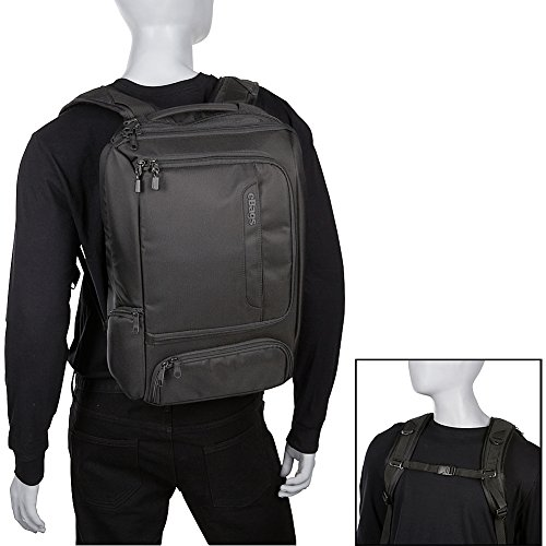 eBags Professional Slim Laptop Backpack (Solid Black) by eBags (Image #4)