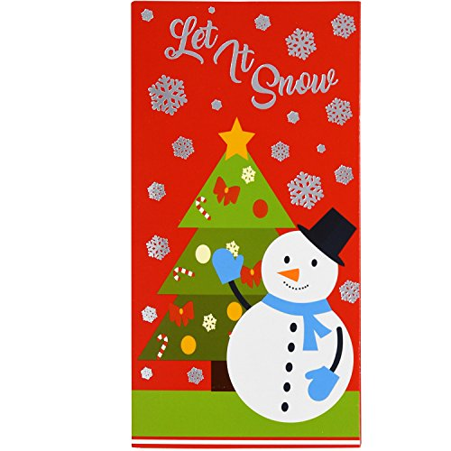 36 Christmas Gift Card Holder - Christmas Money Holder - Christmas Greeting Cards with Envelopes Bulk Assorted in 3 Holiday Cute Festive Designs with Hot Stamped Foil Winter Holiday Cards Box Set Photo #6