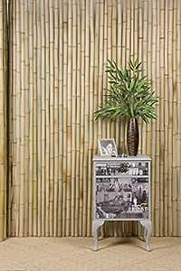 30mm de grosor natural bambú Protector de 2metros x 2metros