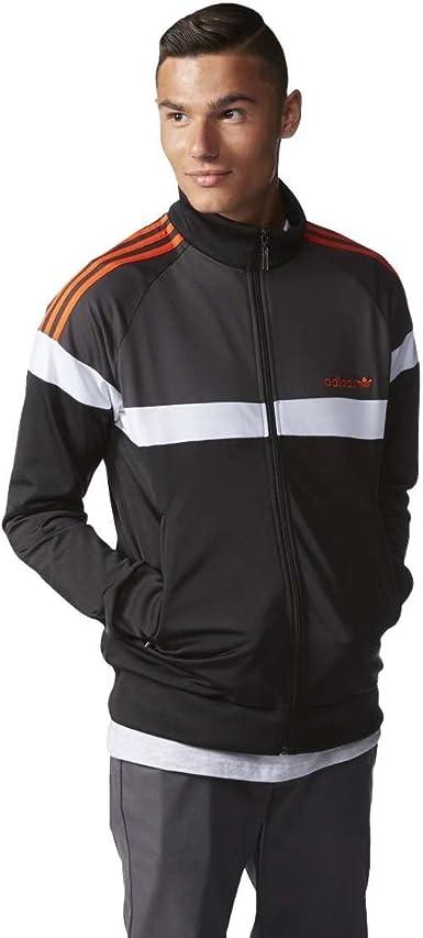Won condado Sombreado  adidas Itasca TT Track Jacket, Hombre, Negro, Extra-Large: Amazon.es:  Deportes y aire libre