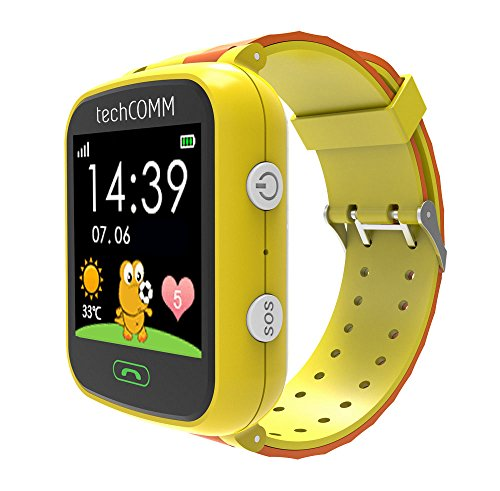 TechComm G200S Kids Smart Watch with Pedometer and GPS for T-Mobile ONLY ()
