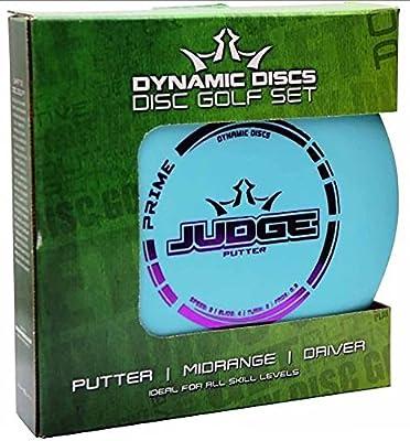 Dynamic Discs Prime Disc Golf Starter Set - Putter Midrange Driver Set