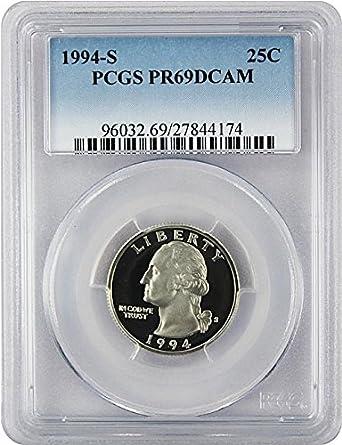 1994-S Washington Quarter Clad Proof