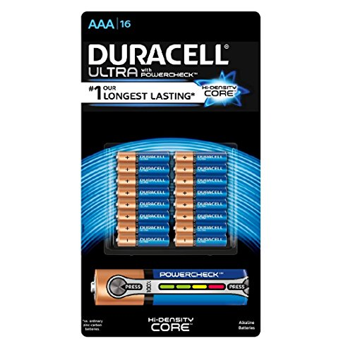Duracell AAA Alkaline Batteries (16 Pack Ultra) by DURACELL'
