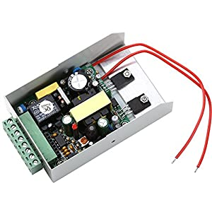Wesmart Door Power Supply,Access Control Power Supply AC100-240V to 12V/3A SupportControl Key for Door Access Control System