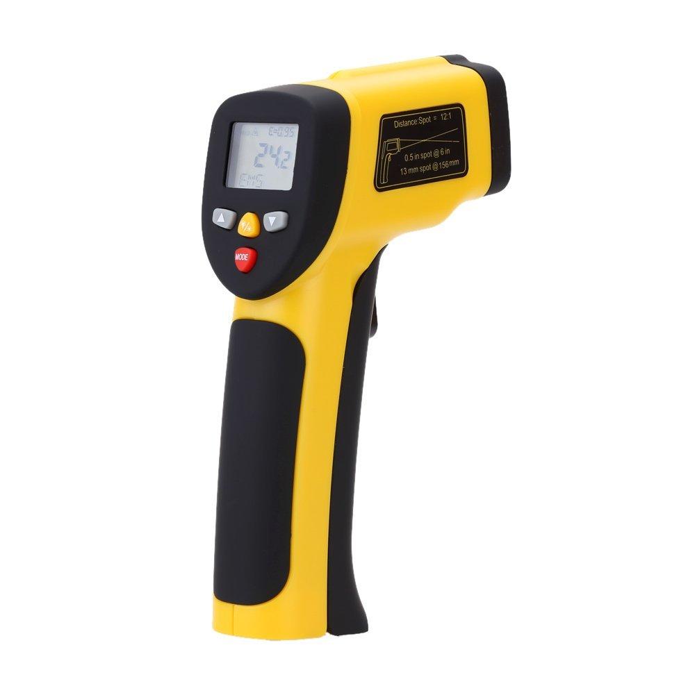 Digital Infrared Thermometer Double Laser High Precision IR Temperature Gauge Tester Pyrometer -50-1050C(-58-1922Fahrenheit)