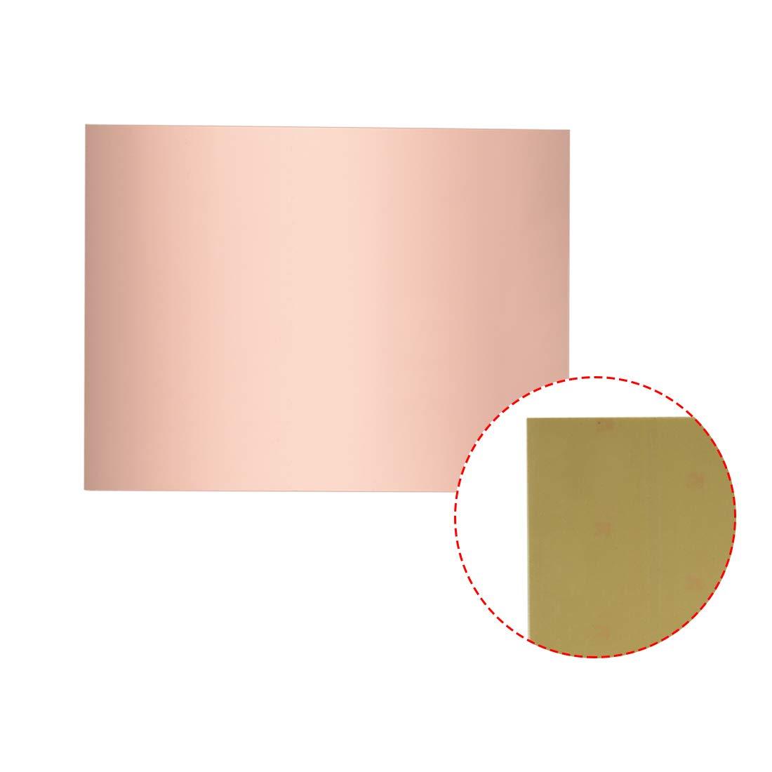 Sourcing Map Carte de circuit imprim/é lamin/é en cuivre 180x120mm Single-Sided pcs