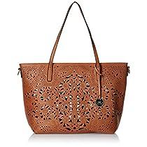Diana Korr Womenss Shoulder Bag Handbag Tan DK64HTAN