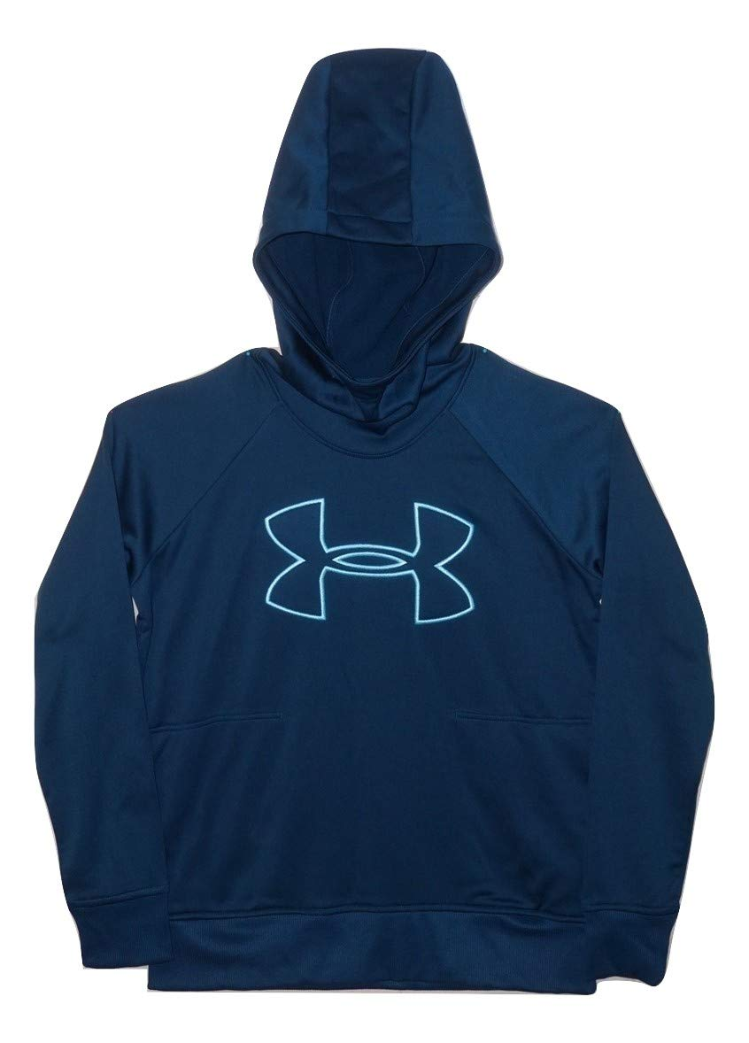 Under Armour Women's Hoodie Active Big Logo Pullover (Small) Blue by Under Armour