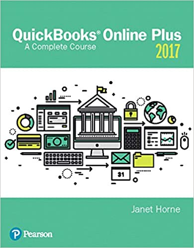 quickbooks 2017: a complete course 18, janet horne, ebook - .com