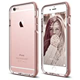 iPhone 6S Case, elago S6 Aluminum Anodised Bumper Case for the iPhone 6S only (4.7inch) - eco friendly Retail Packaging (Transparency / Rose Gold)