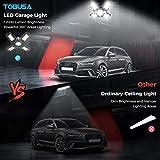 80W LED Garage Lights 12000LM Deformable Garage