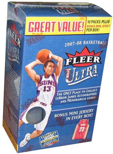 2007/08 Upper Deck Fleer Ultra Basketball Blaster Box - 10 packs / 5 cards