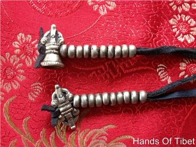 Bone Shaped Beads (Large Handmade Brass Mala Counters Chupshed)